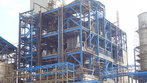 750 TPD Polyester Plant CP4 at Purwakarta